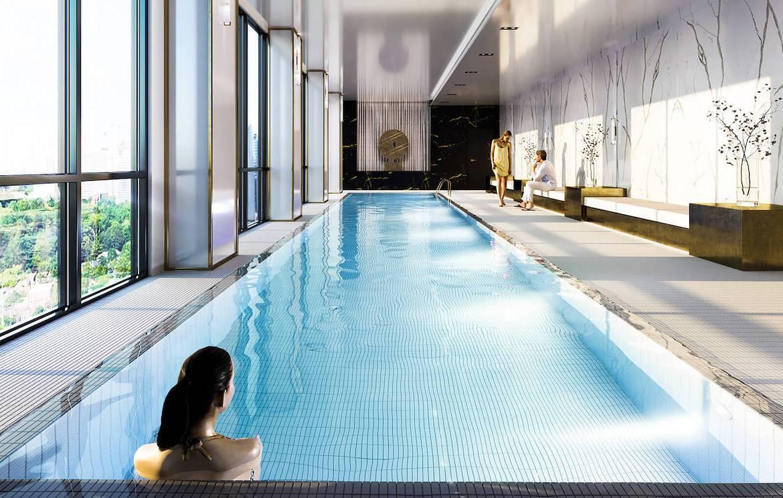 Rendering of Gallery Condos and Lofts Indoor Pool