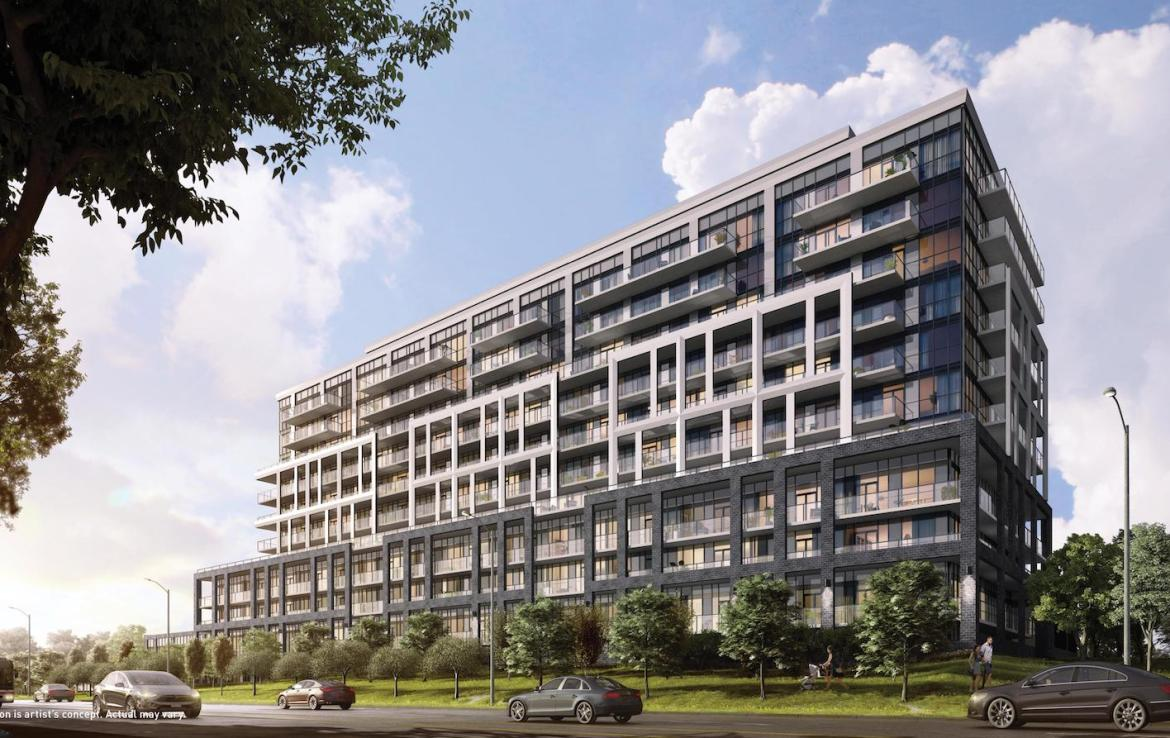 Saturday in Downsview Park Condos Exterior