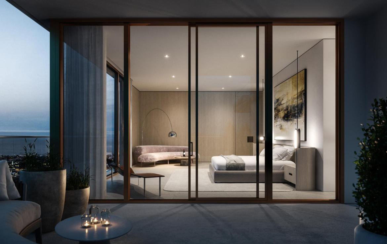 La Clara Residences suite floor-to-ceiling windows