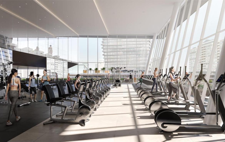 M City Condos 3 gym