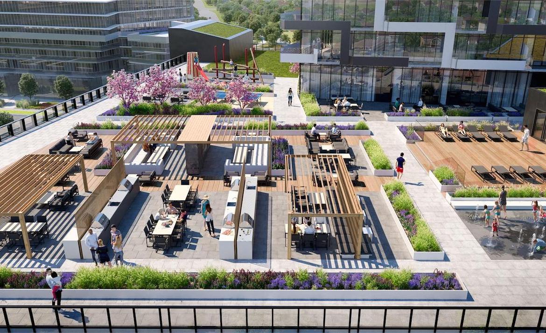 M City Condos 3 rooftop