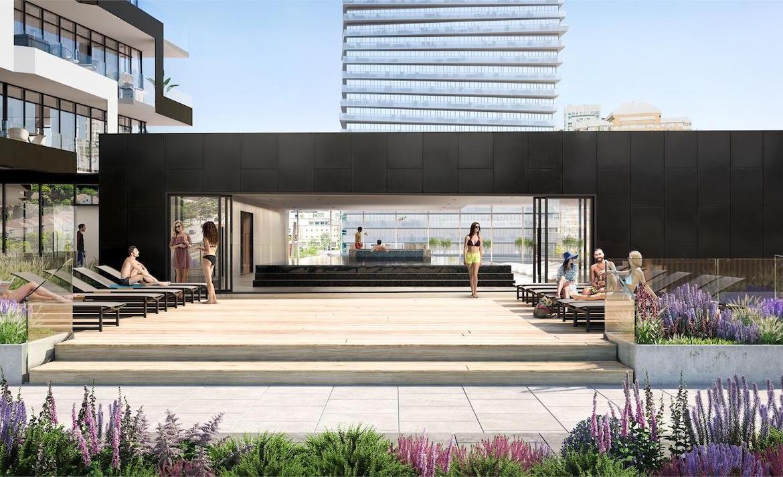 M City Condos 3 swimming pool patio
