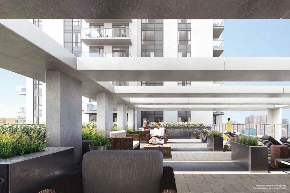 Keystone Condos Outdoor Rooftop Terrace