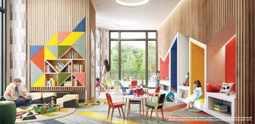 Keystone Condos Kids Playroom