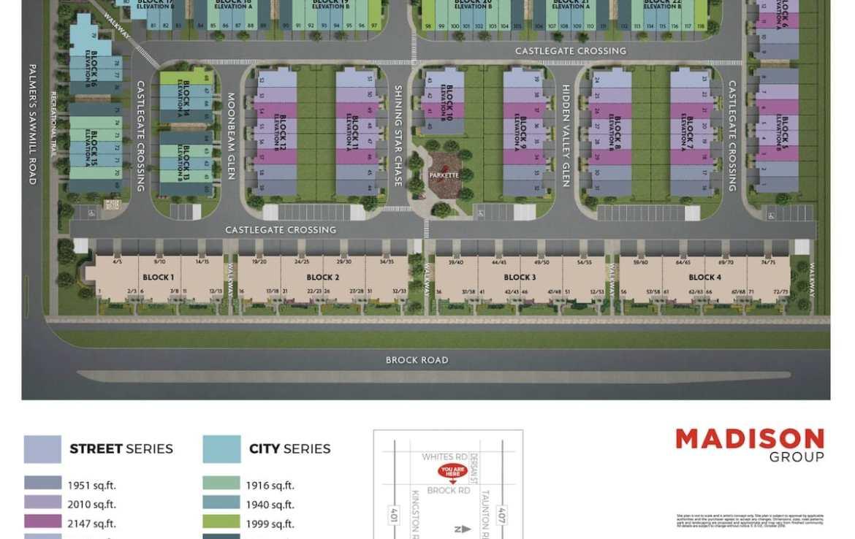 NuTowns Site Plan Rendering