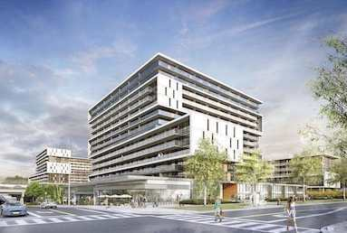 Exterior Rendering of The Yorkdale Condos