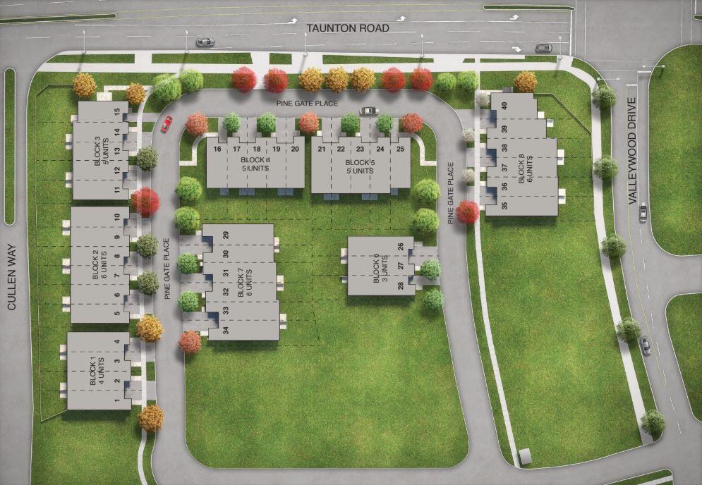 Horizons Modern Towns Site Plan