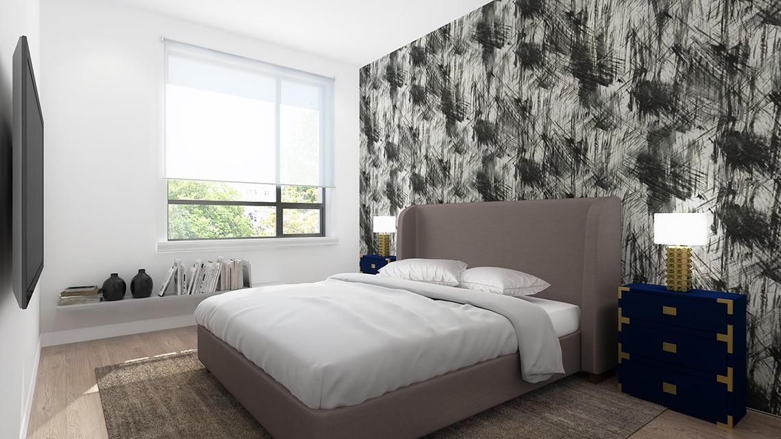 Rendering of Dellwood Park Urban Townhomes Bedroom