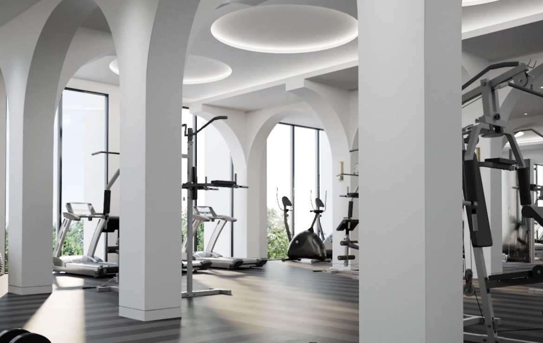 Interior Rendering of Eight Cedarland Condos Fitness Centre