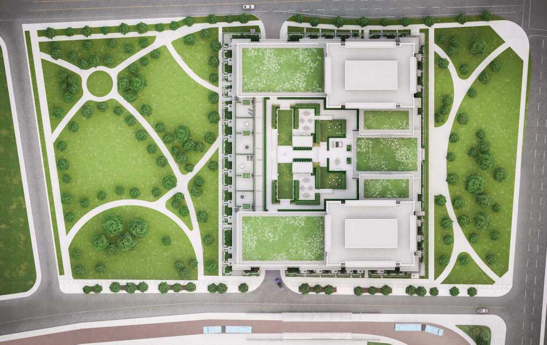 Eight Cedarland Condos Site Plan