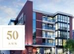 Exterior Rendering of 50 Ann Condos