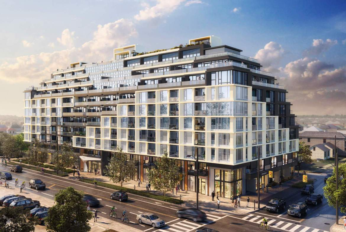 Rendering of The Dylan Condos by Chestnuthill Developments