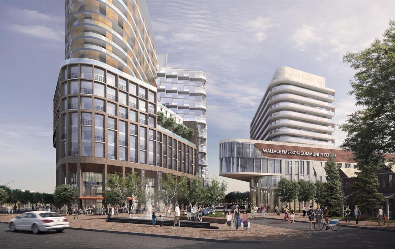 Exterior Rendering of the Galleria Mall Condos