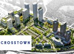 Exterior rendering of Crosstown Community Condos
