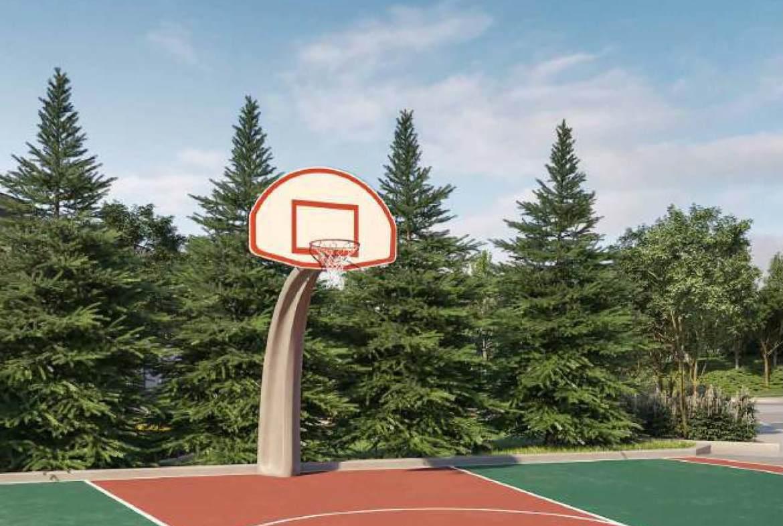 SXSW 2 outdoor basketball court.