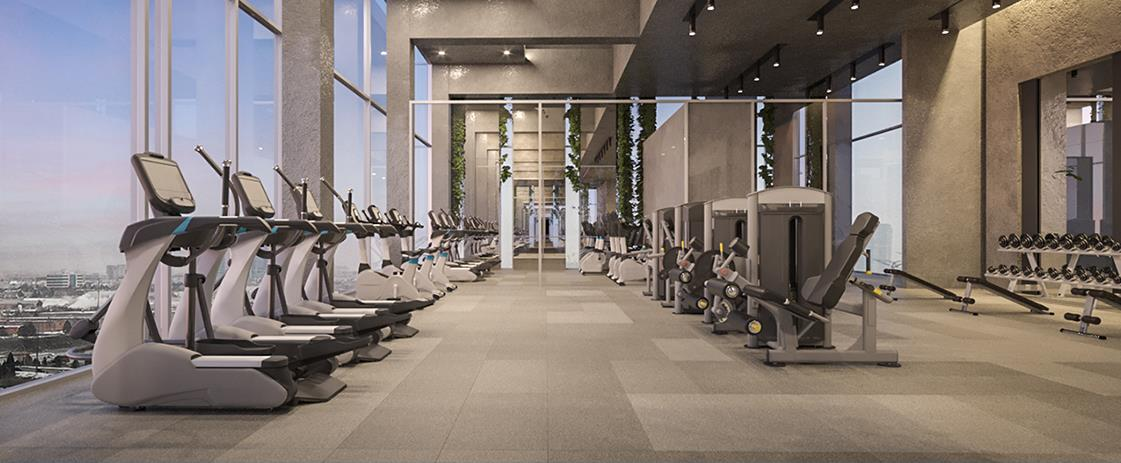 SXSW Condos and Towns Building Fitness Centre