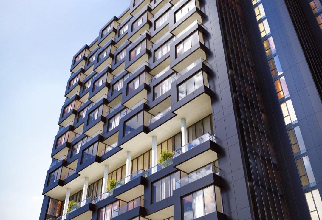 Rendering of Crosstown Condos Exterior