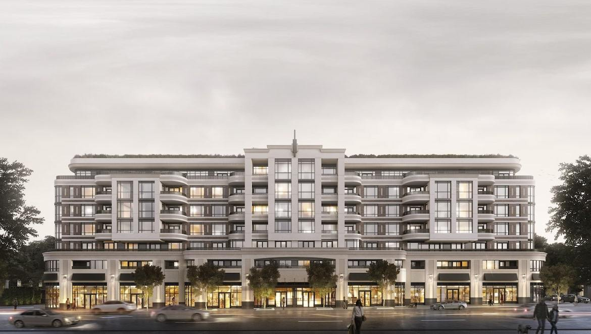 Rendering of Empire Maven Condos Exterior Front in Full