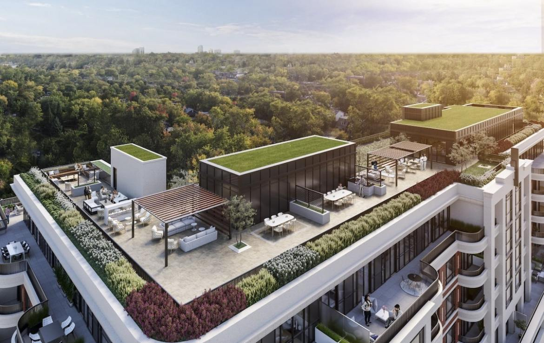 Rendering of Empire Maven Condos Rooftop Terrace