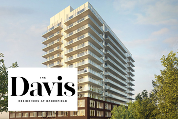 Exterior Rendering of The Davis Residences