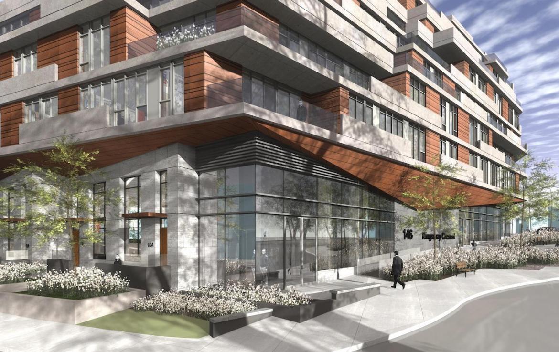 Exterior Rendering of Kingsway Crescent Condos