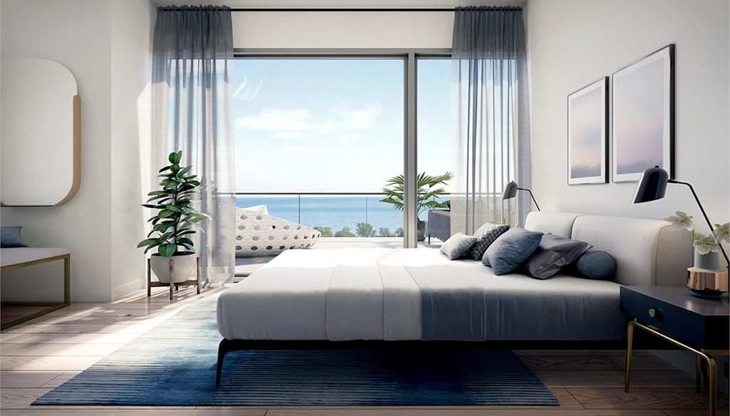 Unit Bedroom Rendering of Rise at Stride Condos