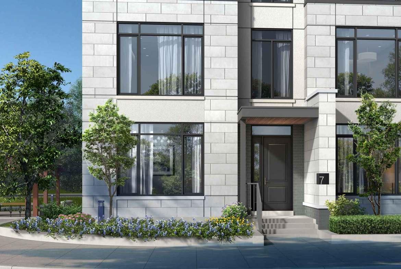 Rendering of 11 Altamont Towns suite exterior entrance.