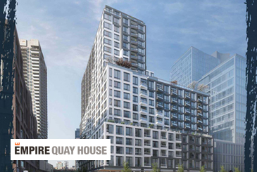 Empire Quay House Condos in Toronto.