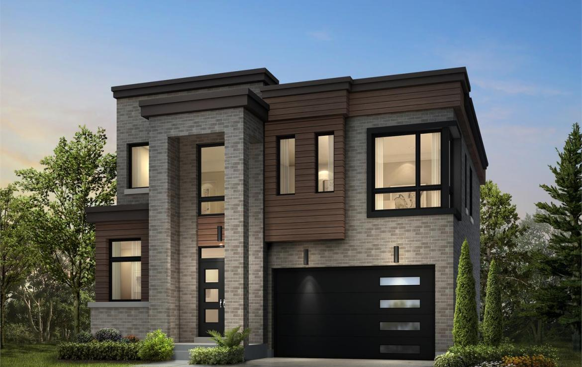 Exterior rendering of Frenchman's Bay detached home 2.