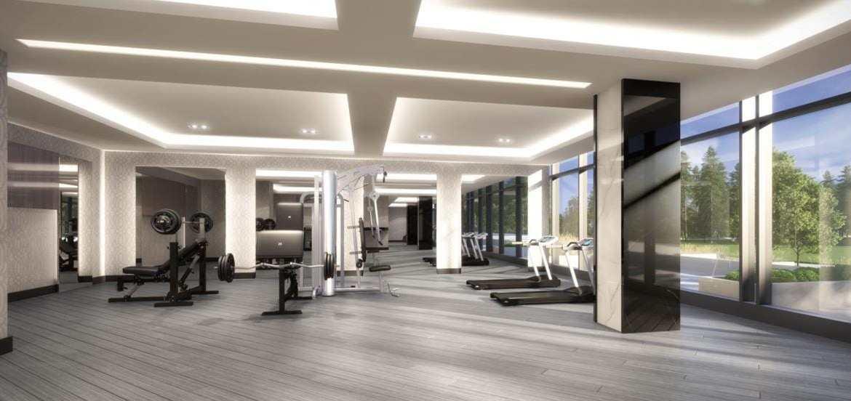 Gym rendering of GO.2 Condos.