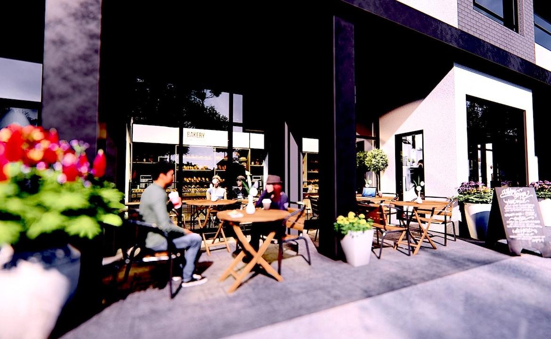 Restaurant rendering of Nahid on Broadview.