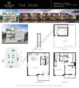 The Bond on Yonge floor plan The Park