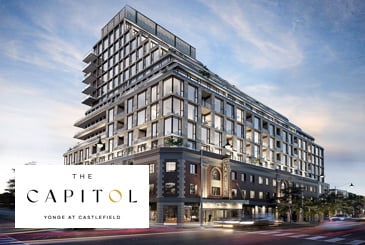 The Capitol Condos and Towns by Madison Group and Westdale Properties in Toronto