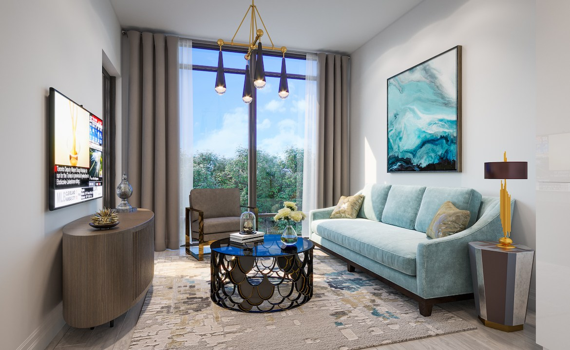 ORO Condos Suite Living Room