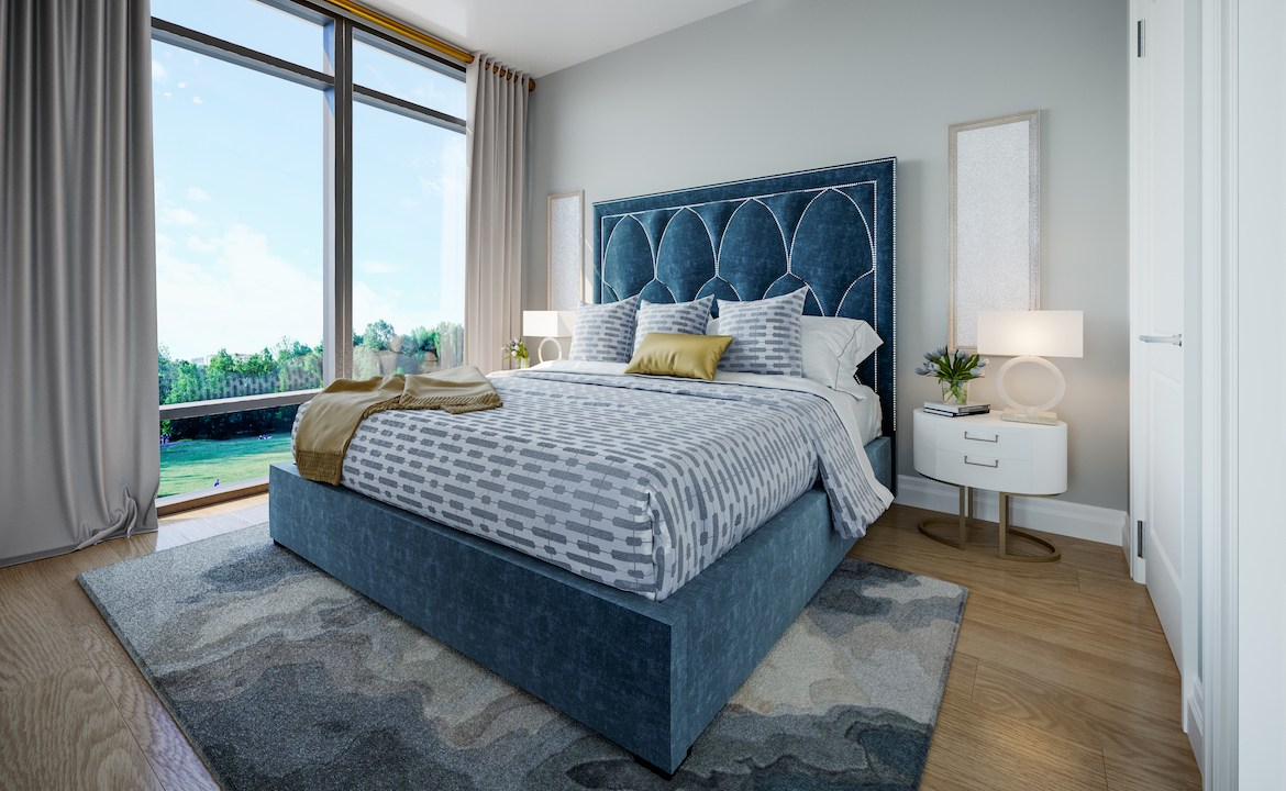 ORO Condos Suite Bedroom