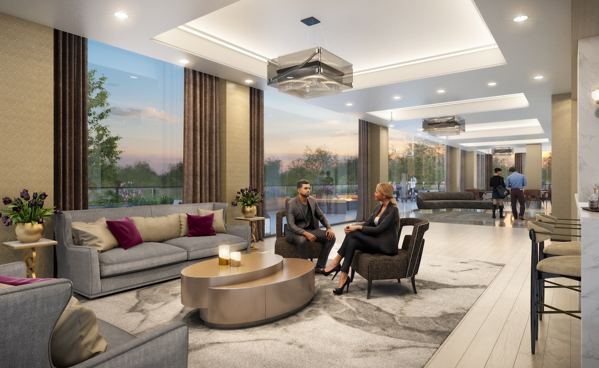 ORO Condos Party Room