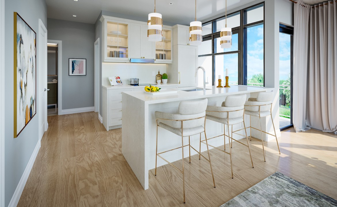 ORO Condos Suite Kitchen