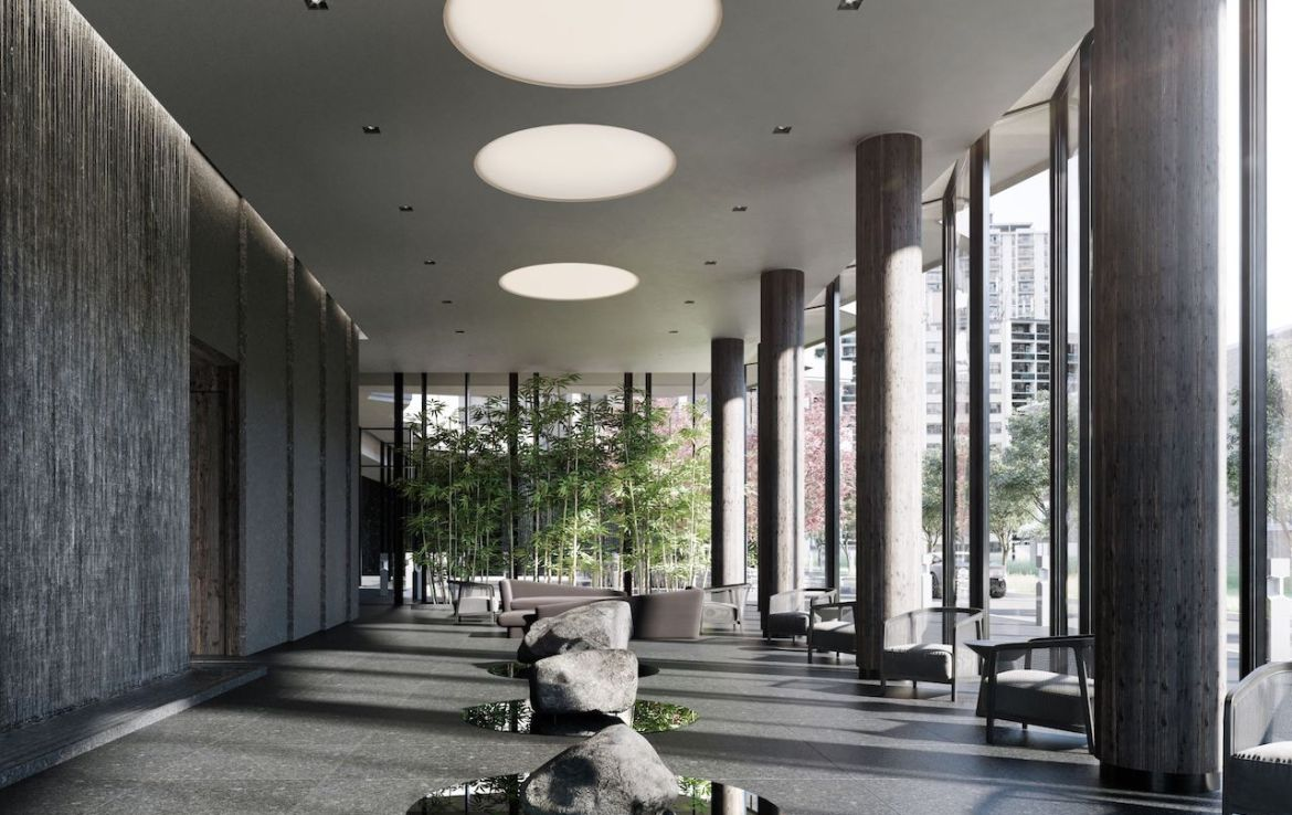 Rendering of Untitled Condos reflection.