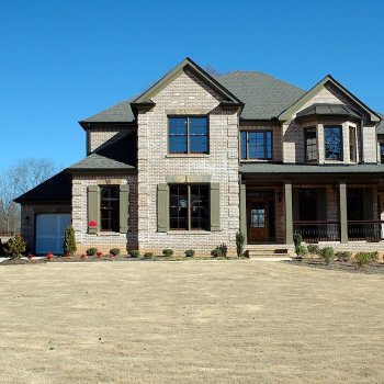 Newly constructed detached home with garage.