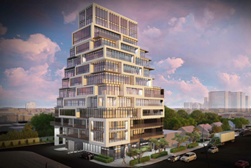 Rendering of 145 Sheppard East Condos .