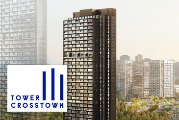 Tower III at Crosstown Condos in North York.