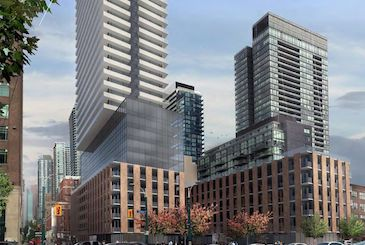Spadina Adelaide Square Condos in Toronto by Go-To Developments