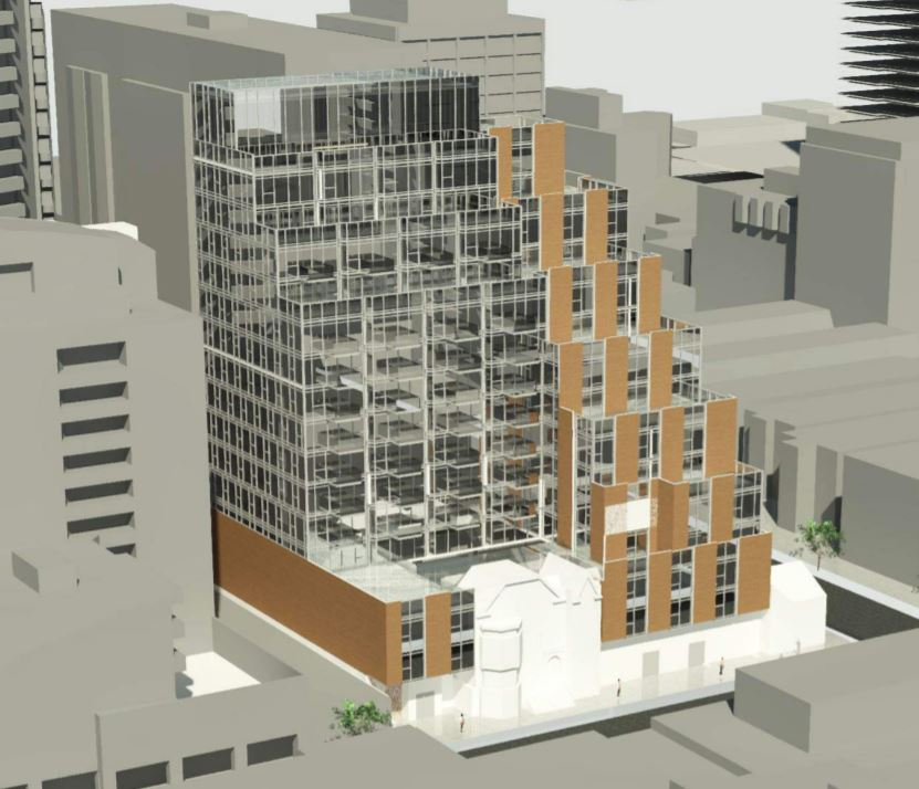 Rendering of 506 Church Street Condos front view