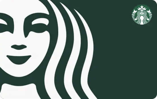 Starbucks Gift Card Example