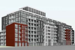 1615 Kingston Road Condos by Altree Developments in Scarborough.