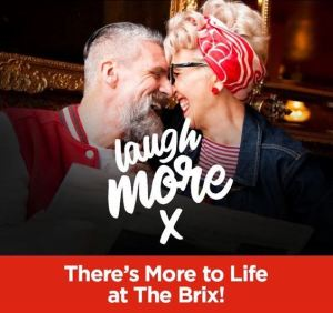 The BRIX Condos. Laugh more. There's more to life at the BRIX!