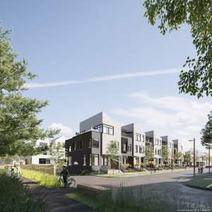 Rendering of Brightwater Towns trail view