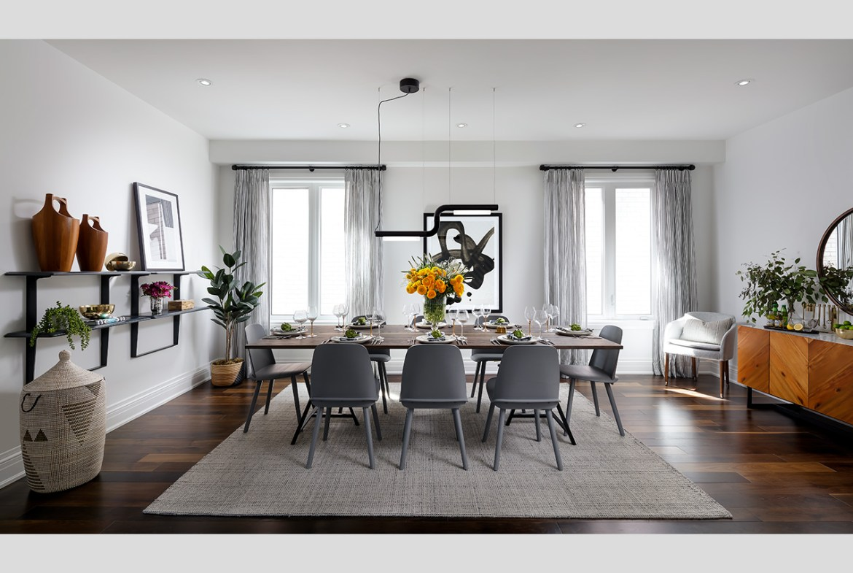 Rendering of Simcoe Landing interior dining room