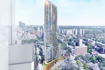 Filmores Hotel Redevelopment by Menkes & Core Development Group in Toronto