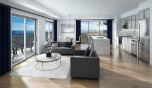 Rendering of MODO Condos suite interior